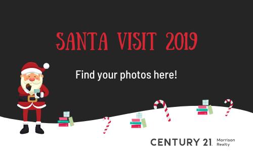 Santa visits Century 21 Morrison Realty